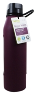 Takeya USA - Classic Glass Water Bottle Purple - 22 oz.