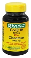 Co Q-10 120 mg Plus Cinnamon