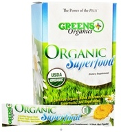 Organic Superfood Stick Pack Box