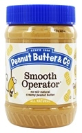 Peanut Butter & Co. - Smooth Operator Natural Peanut Butter - 16 oz.