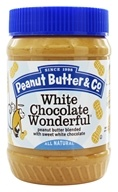 White Chocolate Wonderful Peanut Butter Blended with Sweet White Chocolate