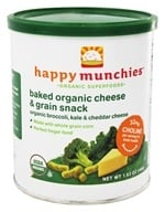 Happy Munchies Organic Cheese & Veggie Snack