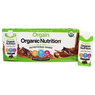 Orgain - Organic Ready To Drink Meal Replacement Creamy Chocolate Fudge - 12 Pack LUCKY PRICE