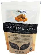 Golden Berries covered with