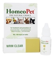 Wrm Clear Liquid Drops For Pets