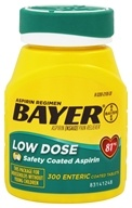 Bayer Low Dose Safety Coated Aspirin
