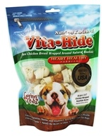 Vita-Hide Heart Healthy Rawhide Dog Treats 2 in.