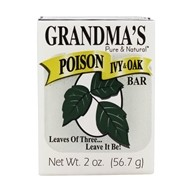 Grandma's Pure & Natural Poison Ivy and Oak Bar with Jewelweed
