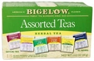 Six Variety Pack Assorted Herb Teas Caffeine Free