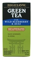 Green Tea Decaffeinated with Blueberry & Acai