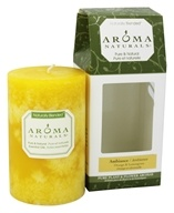 "Ambiance Naturally Blended Pillar Eco-Candle 2.5"" x 4"""