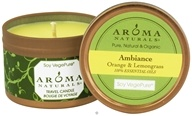 Ambiance Soy VegePure Small Travel Tin Eco-Candle
