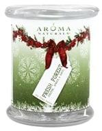 "Evergreen Holiday Soy VegePure Pillar Eco-Candle 3"" x 3.5"""