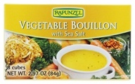 Vegetable Bouillon Vegan with Sea Salt