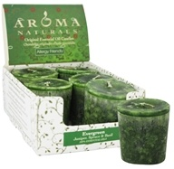 Evergreen Holiday Naturally Blended Votive Eco-Candle