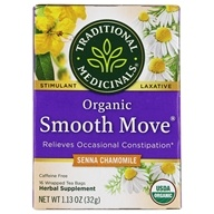 Organic Smooth Move Herbal Tea with Chamomile Caffeine Free