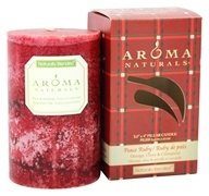 Peace Ruby Holiday Naturally Blended Pillar Eco-Candle