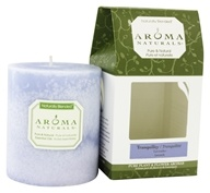 "Tranquility Naturally Blended Pillar Eco-Candle 3"" x 3.5"""