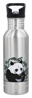 Stainless Steel Water Bottle Endangered Species Giant Panda