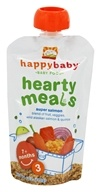 HappyBaby - Organic Baby Food Stage 3 Meals Ages 7+ Months Super Salmon - 4 oz.