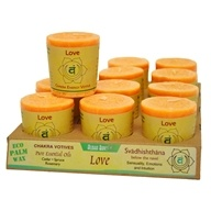 Chakra Energy Votive Candle Love