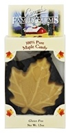 100% Pure Maple Candy Maple Leaf