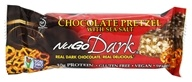 NuGo Nutrition - Dark Bar Dark Chocolate Pretzel with Sea Salt Flavor - 1.76 oz.