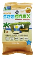 Lightly Roasted and Seasoned Seaweed Grab & Go Pack Toasty Onion