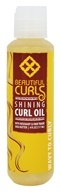 Curl Oil Shining Shea Butter & Rosemary For Wavy to Curly Hair