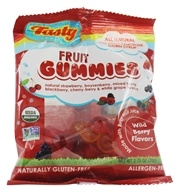 Organic Wild Berry Fruit Snacks Gummies For Kids 2-102