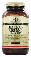 Triple Strength Omega 3 EPA & DHA
