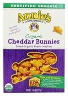 Organic Bunnies Baked Snack Crackers