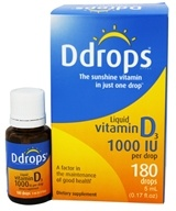 Liquid Vitamin D3 180 Drops