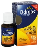 Liquid Vitamin D3 365 Drops