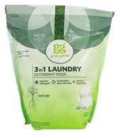 3-in-1 Laundry Detergent 60 Loads Biggie Pouch