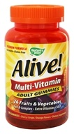 Nature's Way - Alive Multi-Vitamin Adult Gummies Cherry, Grape & Orange Flavors - 90 Gummies LUCKY DEAL