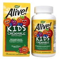 Alive Children's Chewable Multi-Vitamins