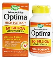 Primadophilus Optima High Potency 60 Billion Active Probiotics