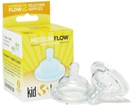 Kid Kanteen Silicone Nipple Medium Flow