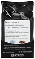 D:Tox System Purifying & Exfoliating Facial Cleansing Towelettes