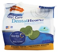 Advanced Oral Care Dental Hearts Dog Chews
