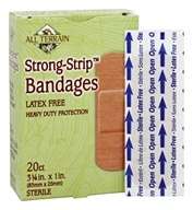 Strong-Strip Bandages Latex Free