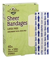 Sheer Bandages Latex Free
