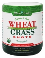 Wheat Grass Shots Organic and Raw