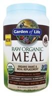 Garden of Life - RAW Meal Organic Shake & Meal Replacement Chocolate Cacao - 34.8 oz.