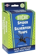 BioCare Silverfish and Spider Trap - 6 Traps
