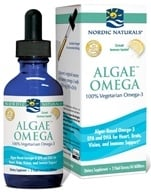 Algae Omega Oil 100% Vegetarian Omega-3