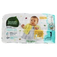 Free and Clear Baby Diapers Stage 1 (8-14 lbs)