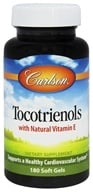 Tocotrienols with Natural Vitamin E
