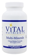 Multi-Minerals Citrate/Malate Formula (No Copper or Iron)